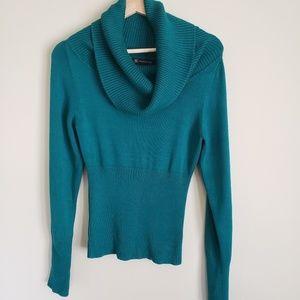 INC Emerald Cowl Neck Sweater